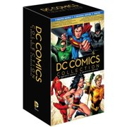 DC Comics Collection: 6 Graphic Novels & 6 Animated Movies (Blu-ray + DVD + Digital HD With UltraViolet) by