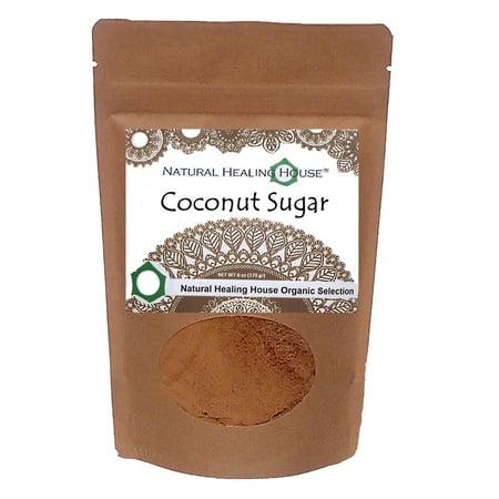 Coconut Palm Nectar Sugar 6 Oz By Natural Healing House