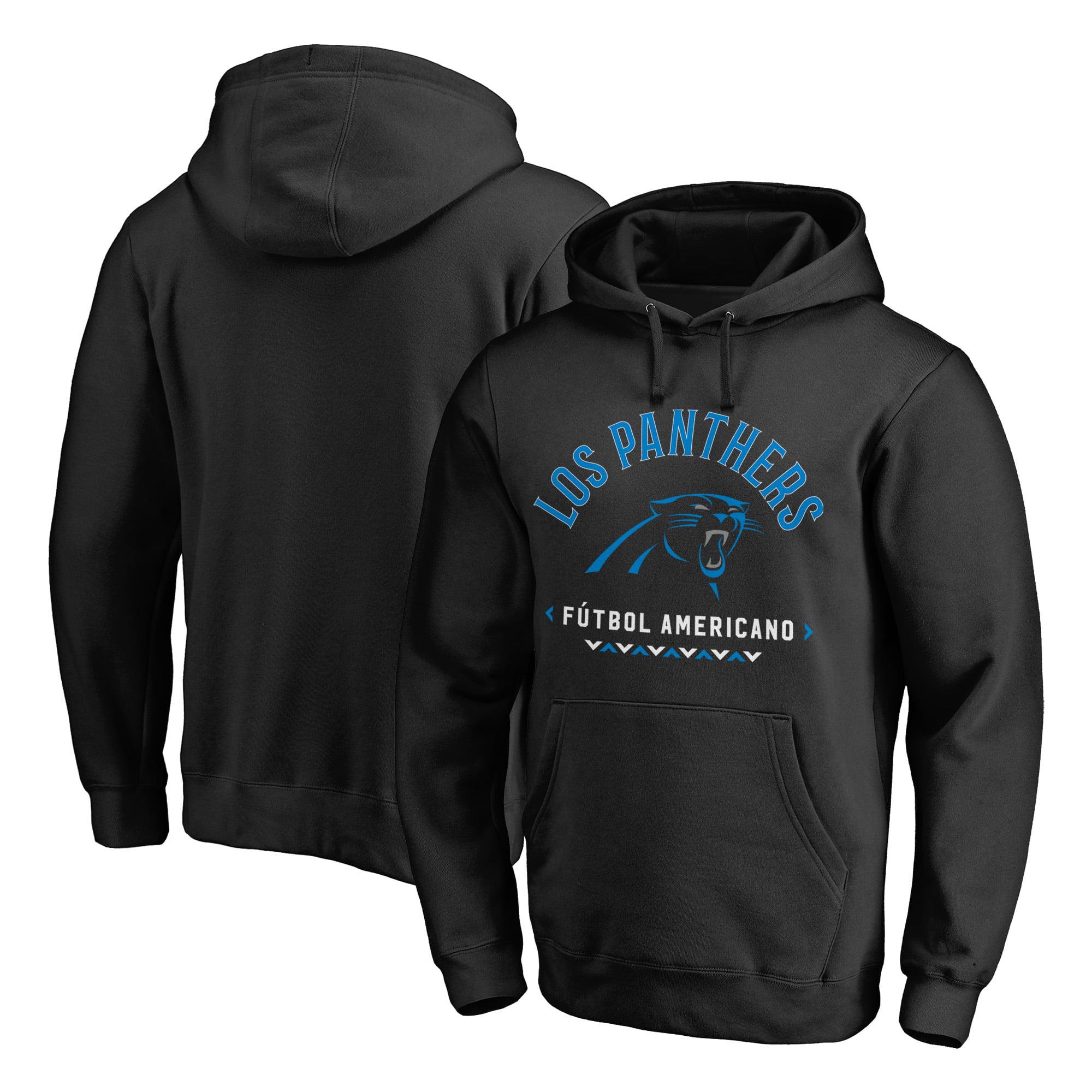 Carolina Panthers NFL Pro Line by Fanatics Branded Futbol Americano Pullover Hoodie - Black