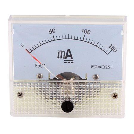 DC 0-150mA Gabarit Rectangle analogique ampèremètre Ampère Mètre Classe 2.5 - image 2 de 2