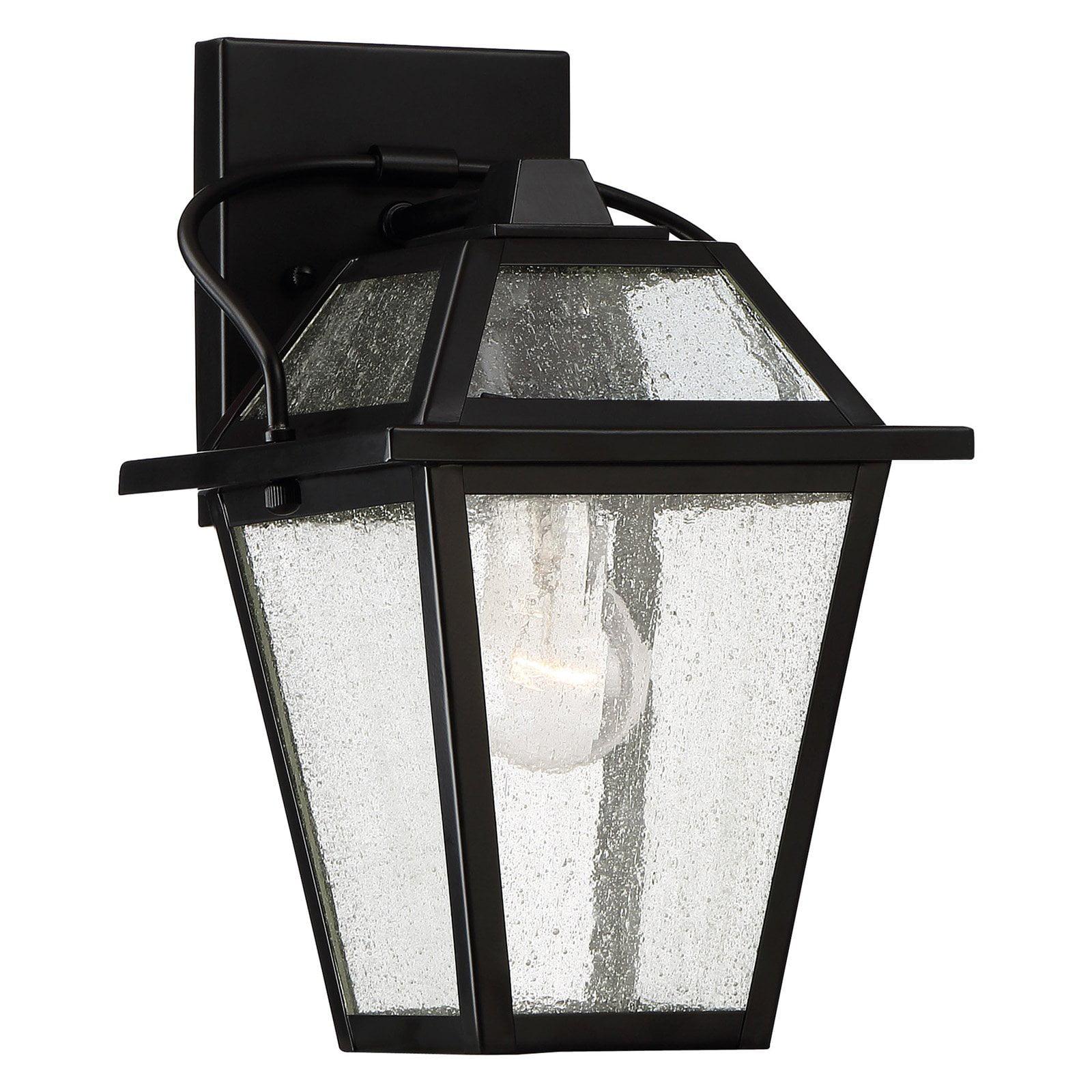 Quoizel Black Ridge BRE8407K Outdoor Wall Lantern by Quoizel