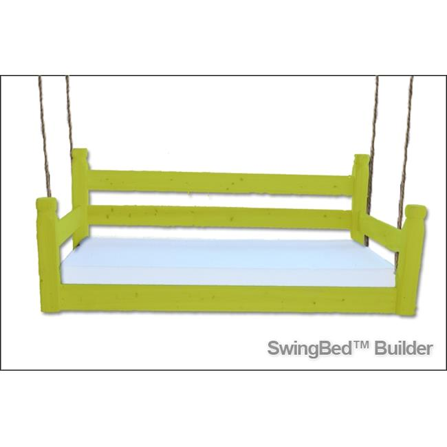 Swing Beds ORG-CRB-GREEN Original Crib Bed, Festive Green