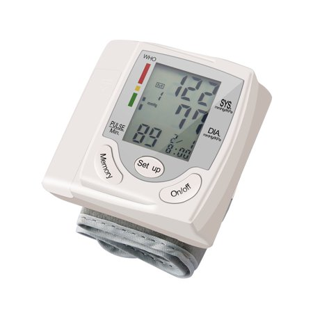 Blood Pressure Cuff Monitor Upper Arm, Auto Pulse Rate Systolic Diastolic BP Tracker, Irregular Heartbeat & Hypertension Detector, Backlit Display - image 6 of 8