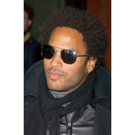 Lenny Kravitz At Arrivals For Marc Jacobs Fall 2007 Fashion Show During Mercedes Benz Fashion Week Canvas Art     16 X 20