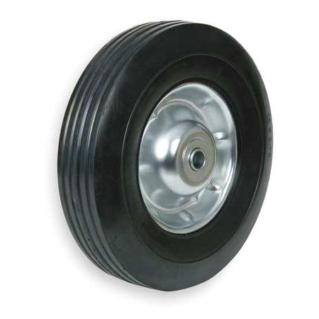 10 Inch Semi Pneumatic Wheels - ZORO SELECT 1NXA9 Semi-Pneumatic Wheel,10 in.,80 lb.