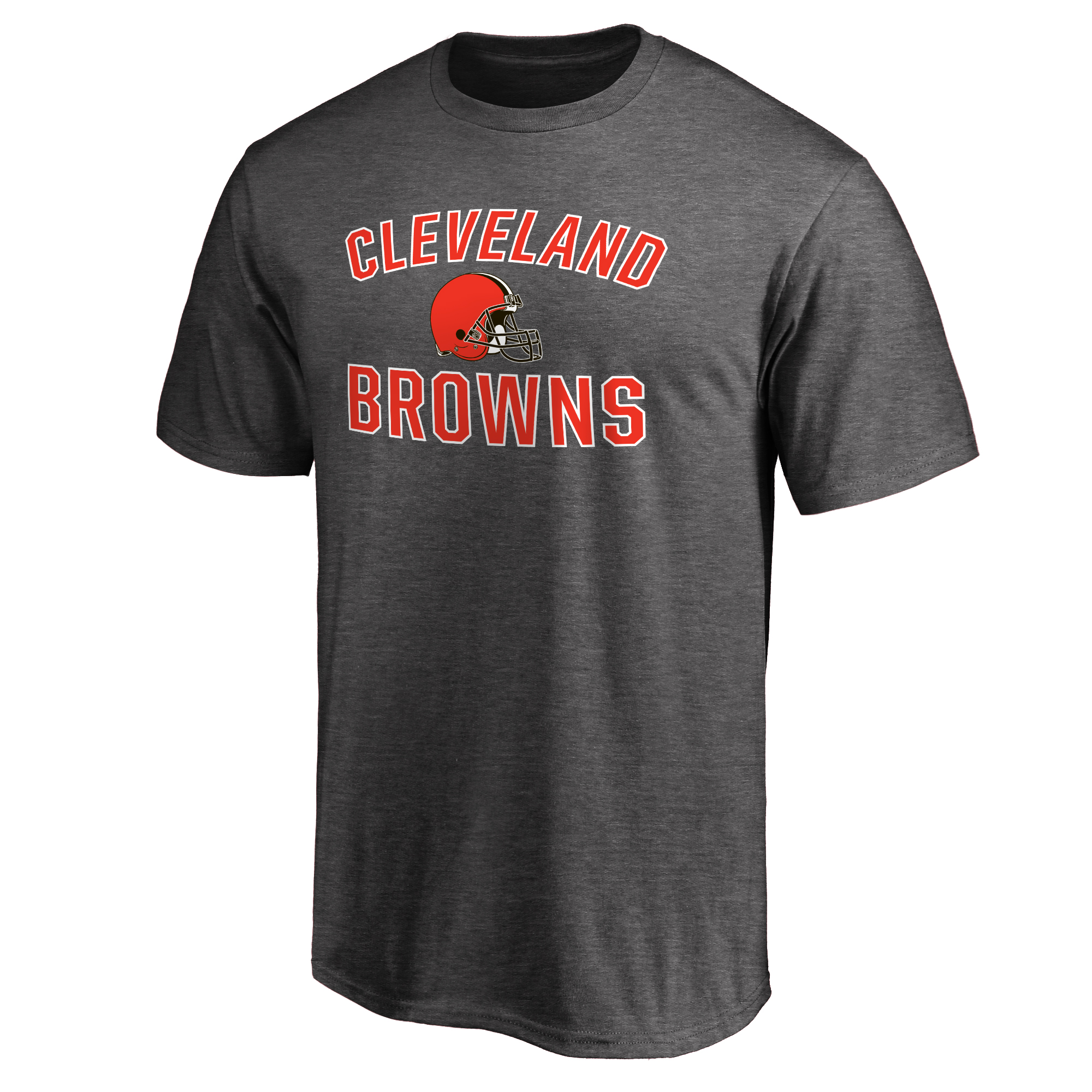 Cleveland Browns NFL Pro Line Victory Arch T-Shirt - Gray