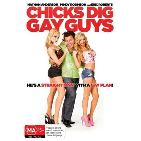 Chicks Dig Gay Guys (2014) [ NON-USA FORMAT, PAL, Reg.4 Import - Australia ] (Import Chicks)