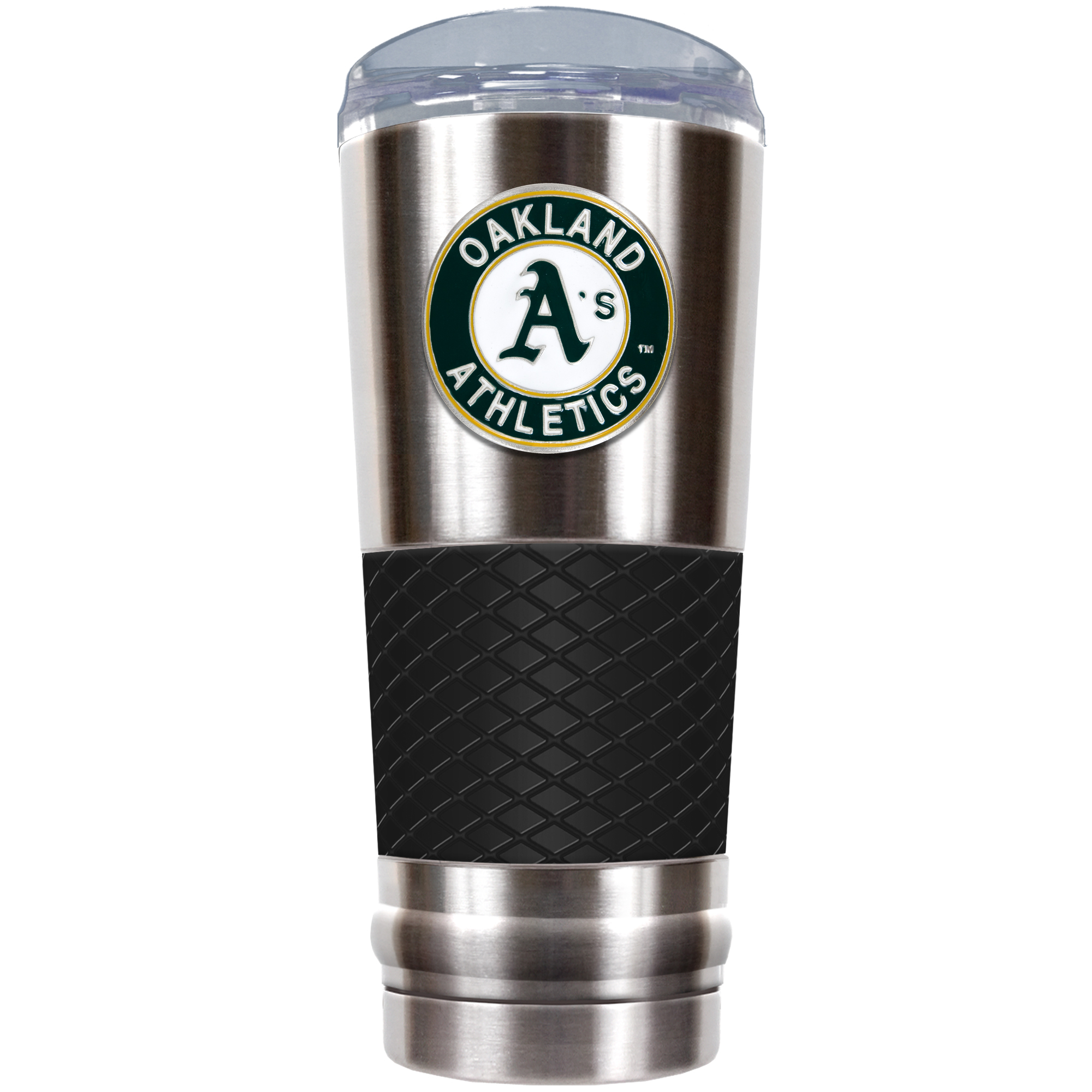Oakland Athletics 24oz. Draft Tumbler - Black - No Size