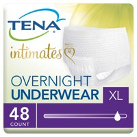 Tena Incontinence Underwear, Overnight, XLarge, 48 Ct