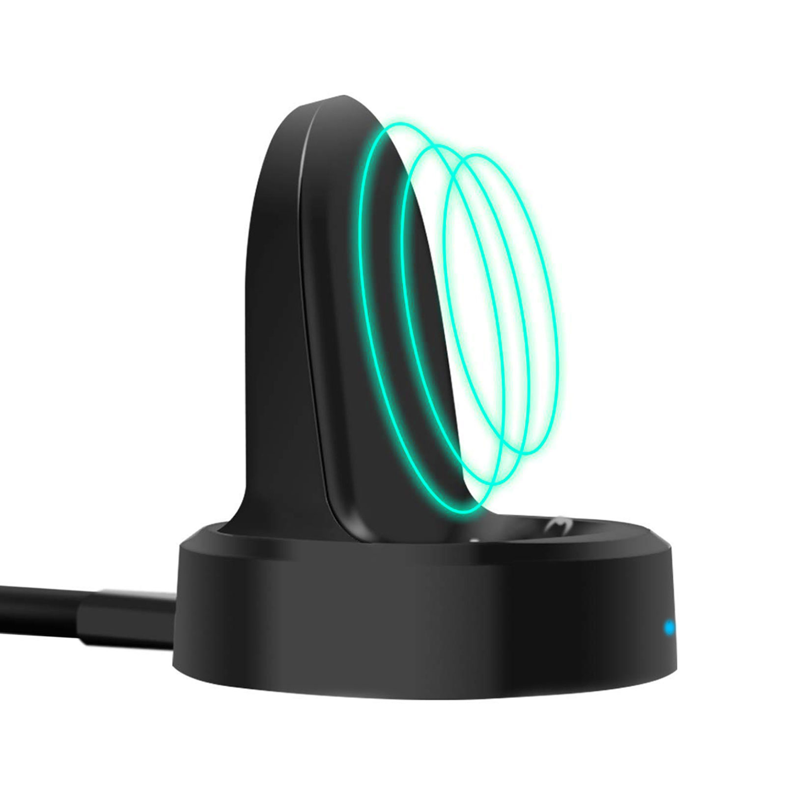 Wireless Charger Dock, EEEKit Qi Wireless Charging Dock Smartwatch Cradle Stand Charger For Samsung Gear S3 Classic / Frontier