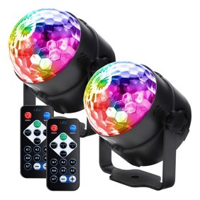 Disco Ball Party Lights 7 Colors Led