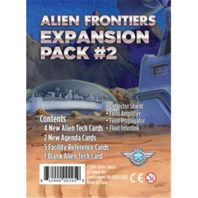 Game Salute GSUH1009 Alien Frontiers Expansion Pack 2