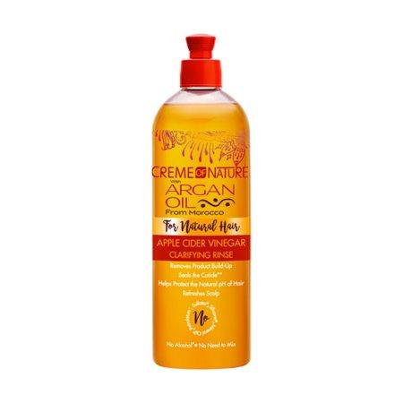 Creme Of Nature Argan Oil Apple Cider Vinegar Clarifying Rinse (Apple Vinegar Rinse)