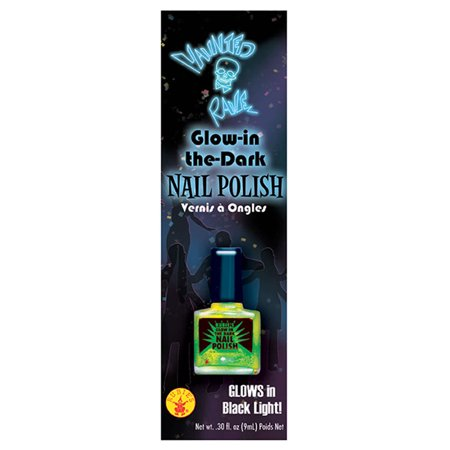 Green Glow-in-the-dark Nail Polish (Homemade Glow In The Dark Nail Polish)