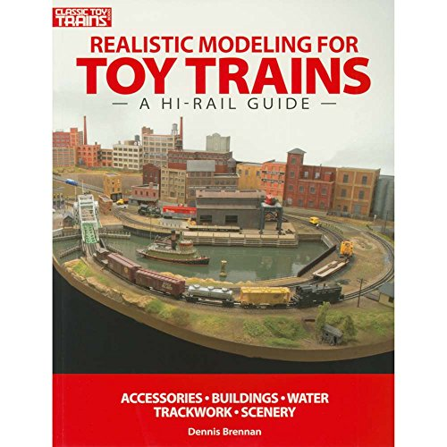 KALMBACH 10-8390 Realistic Modeling for Toy Trains