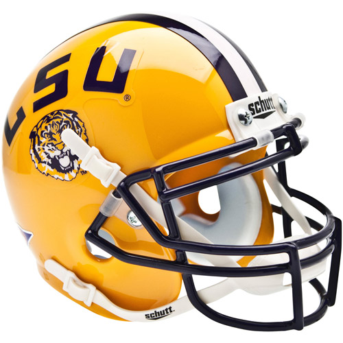 Shutt Sports NCAA Mini Helmet, LSU Tigers