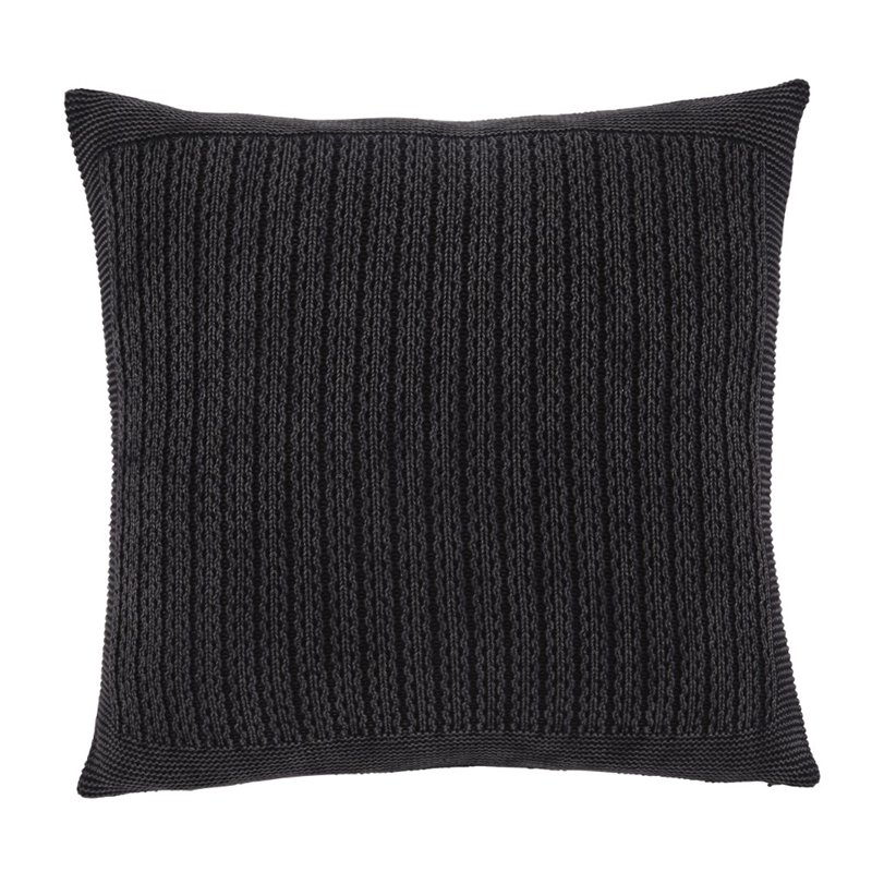 Ashley Wilsonburg Throw Pillow Cover in Charcoal (Set of 4) by Ashley Furniture