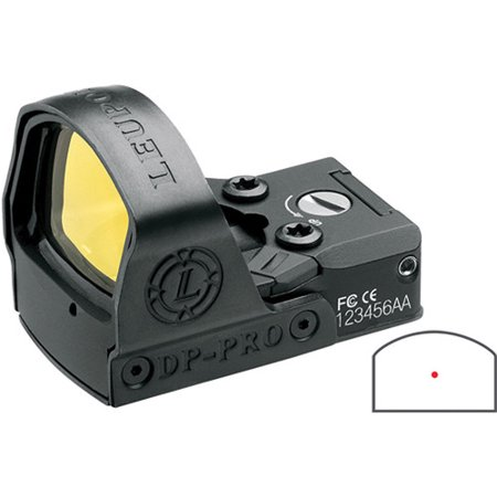 Leupold Deltapoint Pro   Black 119688 Deltapoint Pro Reflex Sight Series Red Dot Scope