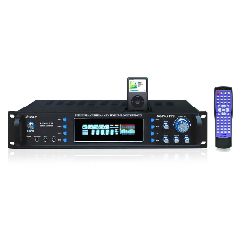 pyle p2002abti 2000 watts hybrid receiver & pre
