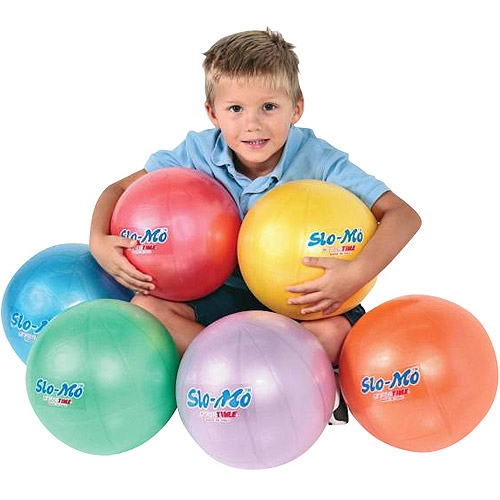 Gymnic OverBalls, Set of 6 Balls in 3 Colors
