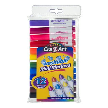 Cra-Z-Art Washable Mini Markers - 12 CT12.0 CT