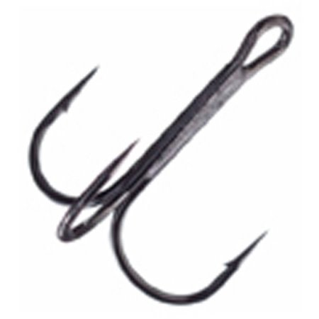 Mustad ultra point kvd round bend treble hooks for Fishing hooks walmart