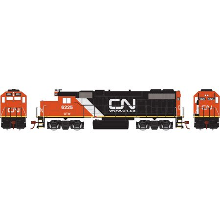 Athearn 14838 HO GTW/Canadian National GP38-2  Diesel Locomotive #6225