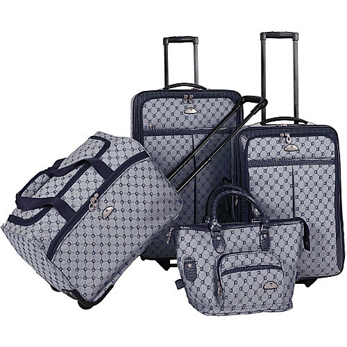 American Flyer AF Signature 4-Piece Luggage Set