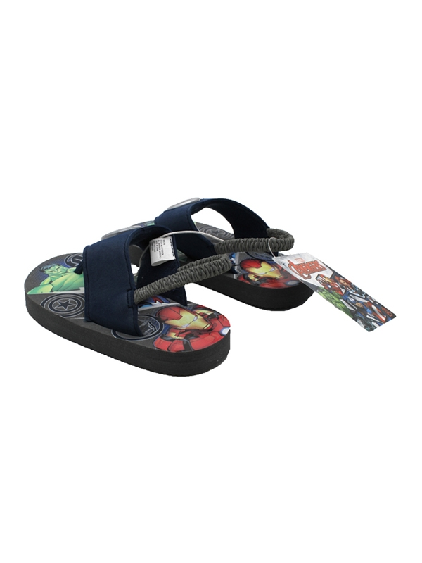 Avenger Flip Flop Lighted Sandals with Strap Toddler//Little Kid