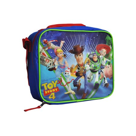 0d8db0abb02a Toy Story 4 Insulated Lunch Bag Shoulder Strap Bo Peep Forky Woody ...