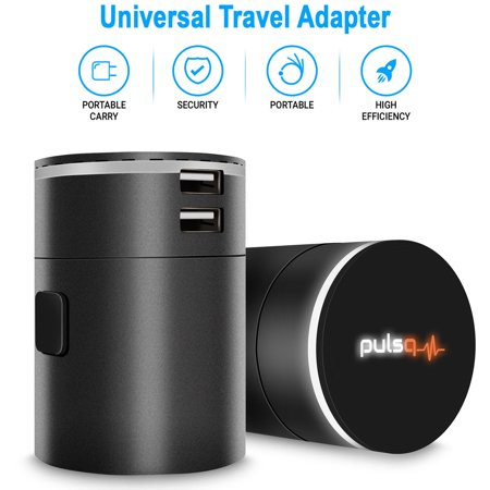 Universal Worldwide Power Adapter Converter USB Wall Charger Socket Travel