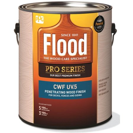 Flood PPG FLD566 01 CWF UV6 Exterior Wood Finish Transparent Pro Series C