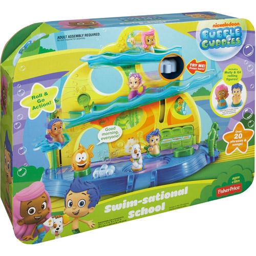 Fisher Price Bubble Guppies Bubble School Play Set Walmartcom