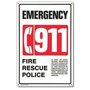 "Poolmaster ""911 Emergency"" Sign for Residential or Commercial Swimming Pools and Spas"