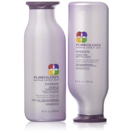 Pureology Hydrate Shampoo & Conditioner Duo Set, 8.5 Oz