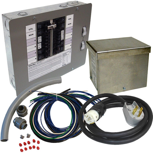 Generac 60-Amp 10-16 Circuit Manual Transfer Switch Kit for Portable Generators (CARB Compliant)
