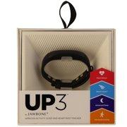 Jawbone UP3 Series Heart Rate Activity and Sleep Tracker JL04 - Black Twist