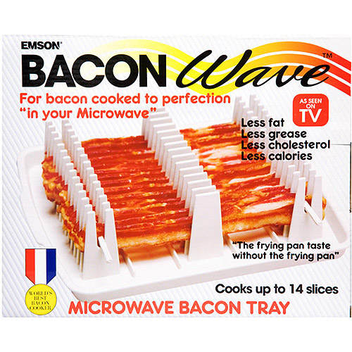 Mishan Bacon Wave Microwave Bacon Cooker