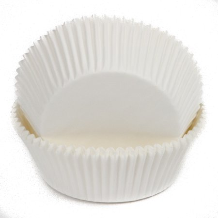 Chef Craft Large Baking Cups, 50 Count, White