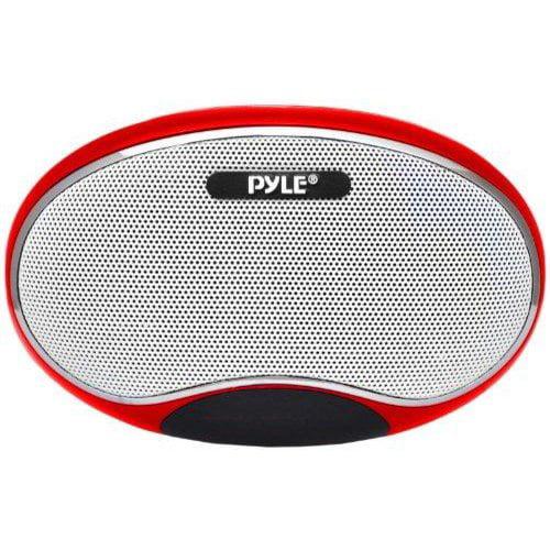 Pyle PSPFM1R Portable Speaker Red