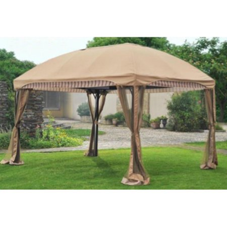 Sunjoy Replacement Canopy for L-GZ702PCO-A 10X13 Curve Gazebo (Sunjoy Gazebo Replacement Canopy)