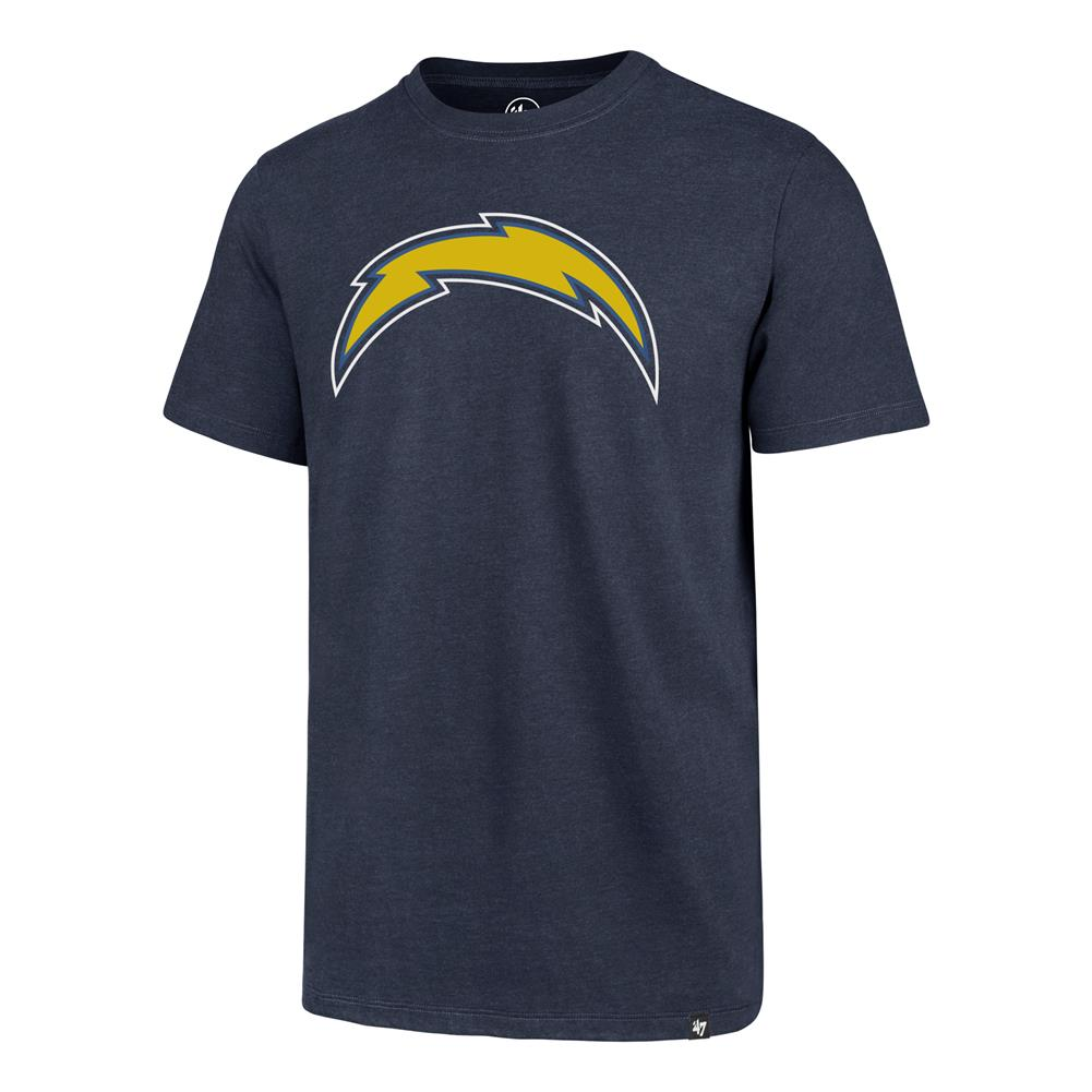 San Diego Chargers Short Sleeve Tee Imprint Club Tee Shirt