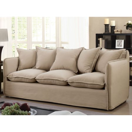 Furniture Of America Emi Sofa With Pillows
