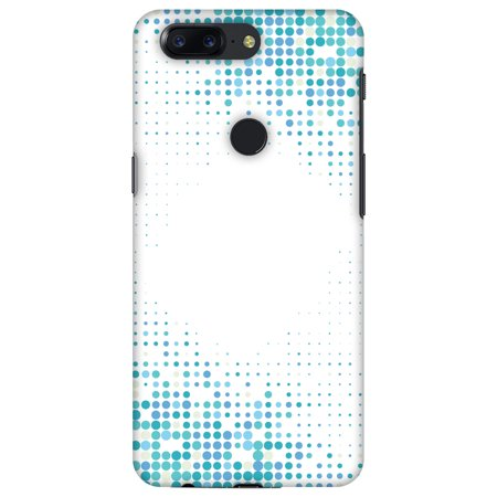 OnePlus 5T Case, Premium Handcrafted Designer Hard Snap on Shell Case ShockProof Back Cover with Screen Cleaning Kit for OnePlus 5T - Blue Matrix