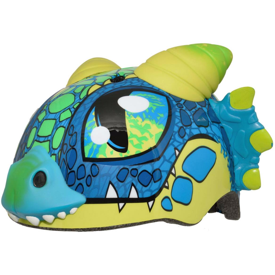 Raskullz Don Dragon Blue Toddler Helmet, Blue