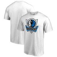 Dallas Mavericks Fanatics Branded Primary Logo T-Shirt - White