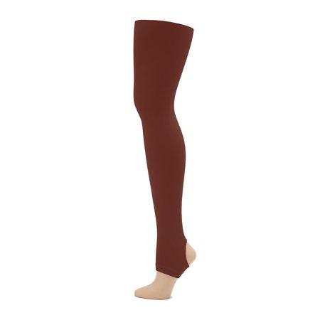 2c3ecf7d7ece3 Capezio - Ultra Soft Self Knit Waistband Stirrup Tight - Girls - Walmart.com