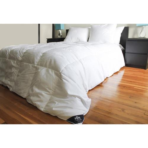 Triumph Hill White Jaquard Cotton Down Bed Comforter Twin