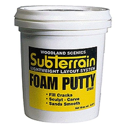 Horizon Hobby (Woodland Scenics Foam Putty, Pint WOOST1447, Woodland Scenics - Foam Putty Pint - ST1447 By Horizon)
