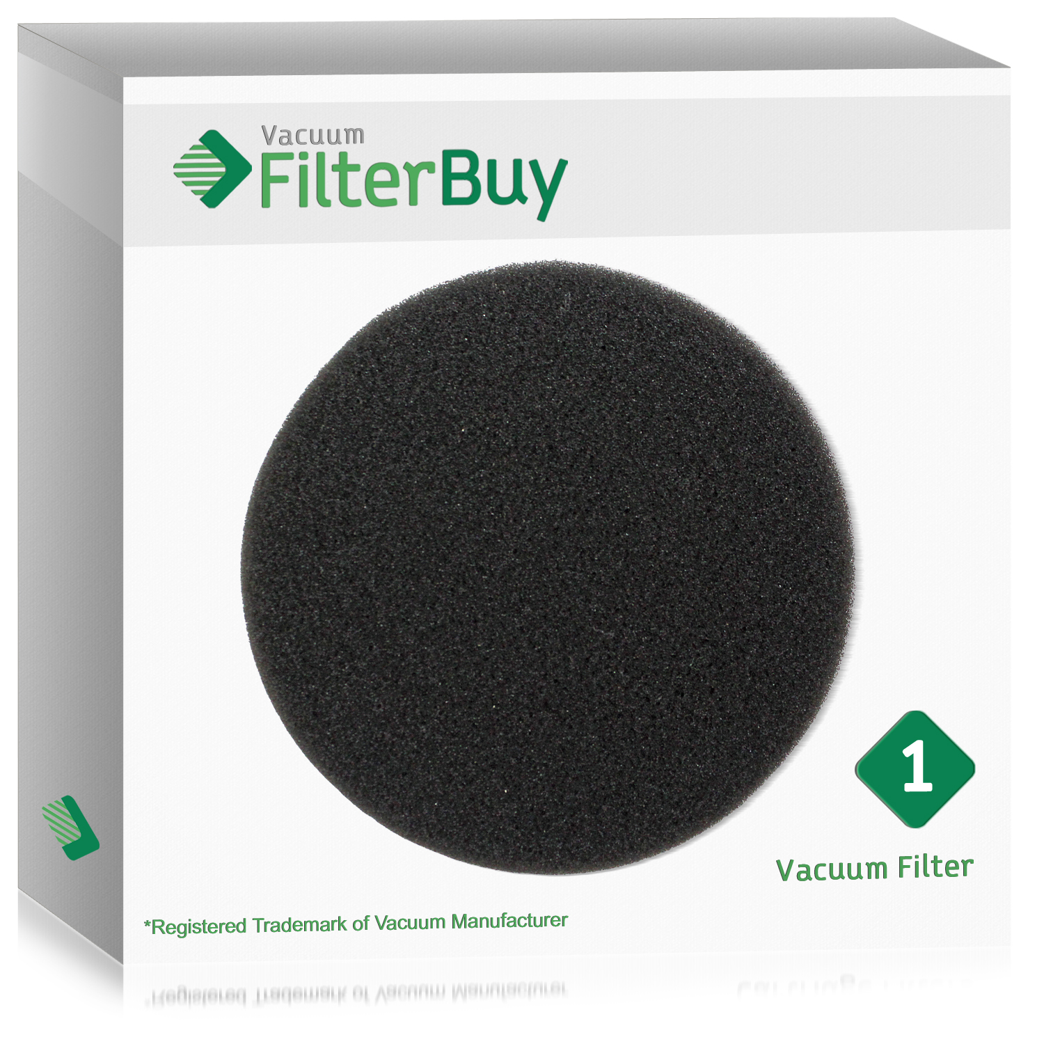Eureka DCF-26 (DCF26) Filter, Part # 68465a & 68465.  Designed by FilterBuy to fit Eureka AirSpeed Upright Vacuum Cleaners.